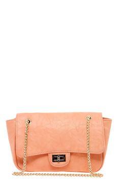 Anita Front Clasp Heavy Chain Shoulder Bag