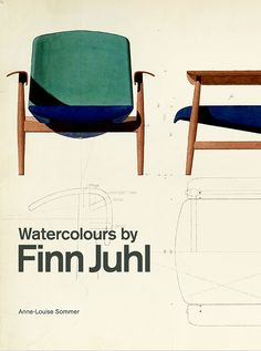 Watercolors by Finn Juhl. Enchanting watercolors from the art of design In the rank of great Danish designers, Finn Juhl is Plywood Furniture, Danish Furniture, Modular Furniture, Scandinavian Furniture, Farmhouse Furniture, Classic Furniture, Repurposed Furniture, Kids Furniture, Office Furniture