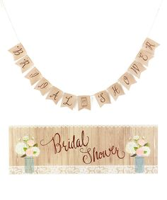 Rustic Bridal Shower Set by Creative Converting #zulily #zulilyfinds