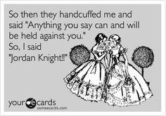 haha yup! @jordanknight :)