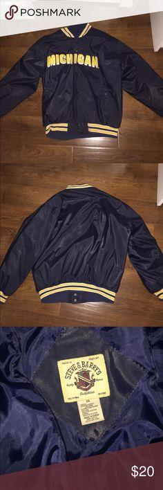 University of Michigan varsity jacket University of Michigan varsity jacket Jackets & Coats Bomber & Varsity