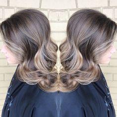 Subtle balayage & soft curls - Melissa Lusby at Amanda Maddox Salon