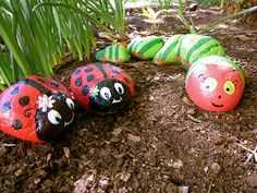 Thrifty Nifty Things: Spring Rock Critters