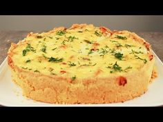 Discover recipes, home ideas, style inspiration and other ideas to try. Quiches, Empanadas, Zucchini Quiche, Keto Quiche, Chicken Quiche, Great Recipes, Favorite Recipes, Quiche Lorraine, Yummy Drinks