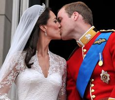 One year today, great memories . . .and what a kiss!! Will and Kate, April 29 2011 inspirations-and-musings