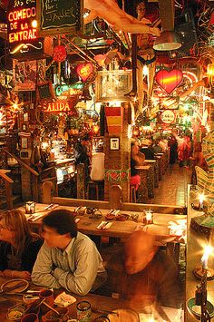 Andres Carne de Res, Bogotá, Colombia - I think THE most famous restaurant/tourist attraction in Bogota for foodies!