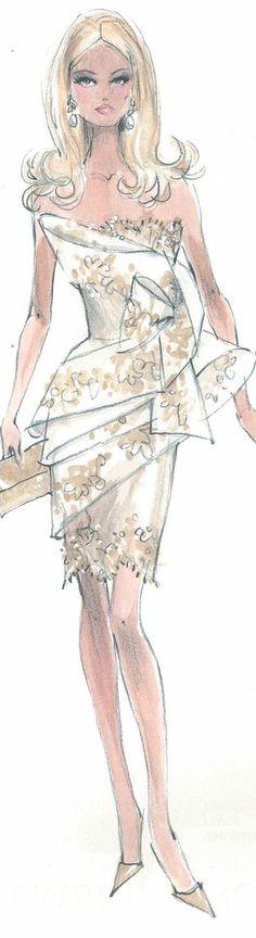 Robert Best Fashion Illustration
