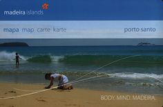 https://flic.kr/p/FwdnbK | porto santo, madeira islands  mapa map carte karte; Body.Mind.Madeira; 2006_1, Portugal overseas territory | tourism travel brochure | by worldtravellib World Travel library