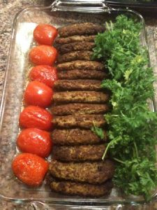 Kotlet is easy to make, easy to eat and easy to serve. This is a great place to start. Ingredients (Makes about 8 patties.depending on size) pound sirloin ground beef 4 medium sized . Beef Recipes, Cooking Recipes, Healthy Recipes, Easy Persian, Beef Cutlets, Iran Food, Iranian Cuisine, Arabic Food, Gourmet