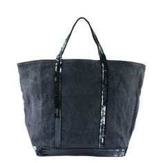 Sac Vanessa Bruno Paillettes Lin / Ardoise (Médium) Sac Vanessa Bruno, Creation Couture, Leather Art, Clutch Bags, Tote Bag, Michael Kors Jet Set, Purses, My Style, Fashion