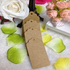 100 unids 5 X 3 cm papel kraft cabeza de la flor etiqueta etiqueta de regalo marcas de etiquetas de regalo de boda decoraciones DIY E823 D en Etiquetas de Industria y Negocio en AliExpress.com | Alibaba Group