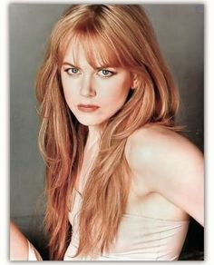 Nicole Kidman Strawberry blonde hair