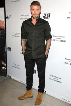 Attending the launch of the new H&M Modern Essentials campaign at H&M in Los Angeles.