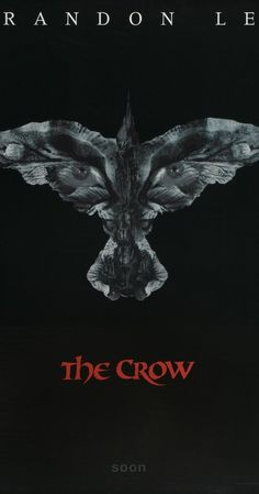 THE CROW - Original Movie Poster One Sheet Rolled 1994 Brandon Lee - # hilarious wedding The Crow, Crow Logo, Crow Movie, Brandon Lee, Bruce Lee, Crow Art, Cinema Posters, Film Posters, Original Movie Posters