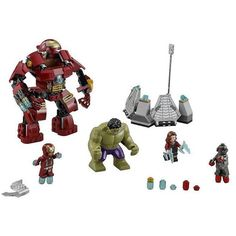 lego Marvel Super Heroes 76031 Avengers Building Blocks Ultron Figures Iron Man Hulk Buster Bricks Toys