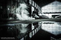 Nostalgic train by Mark Mervai on 500px
