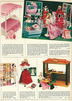 1983 Montgomery Ward Christmas Catalog Angel Face Barbie. We always made her be the teacher.
