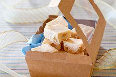 Honey and macadamia fudge