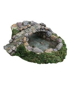 Look at this Stone Pond & Bridge Figurine Set on #zulily today!