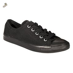 Converse Womens CT Black Dainty Trainers-UK 3 - Converse chucks for women (*Amazon Partner-Link)