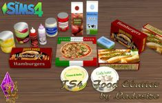 Ladesire's creative corner : TS4 - Food Clutter by Ladesire