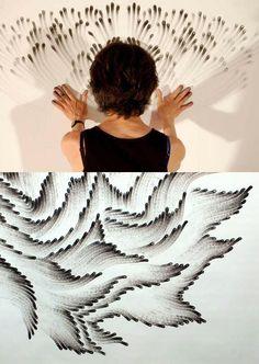 High School Art lesson: Mixed Media Painting [Art II class] Inspiration :The blooming palette Fingerprint Art, Mixed Media Painting, Painting Art, Pattern Painting, Paintings, High School Art, Inspiration Art, Arte Pop, Finger Painting