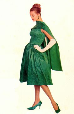 Gorgeous in Green. 1960