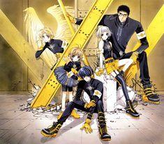 CLAMP, Geneon Pioneer, Wish, X, Cardcaptor Sakura, CLOVER (Series)