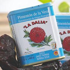 La Dalia Sweet Smoked Paprika from Spain (2.5oz/70g) - http://spicegrinder.biz/la-dalia-sweet-smoked-paprika-from-spain-2-5oz70g/