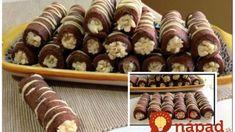 Nepečené kokosové tyčinky pre návštevy: Výborné a rýchlo hotové – určite ich nebudete robiť len na sviatky! Mini Cupcakes, Cereal, Muffin, Breakfast, Food, Basket, Kids, Morning Coffee, Essen