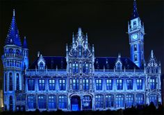 Post Hotel, Ghent Light City, Belgium #festival