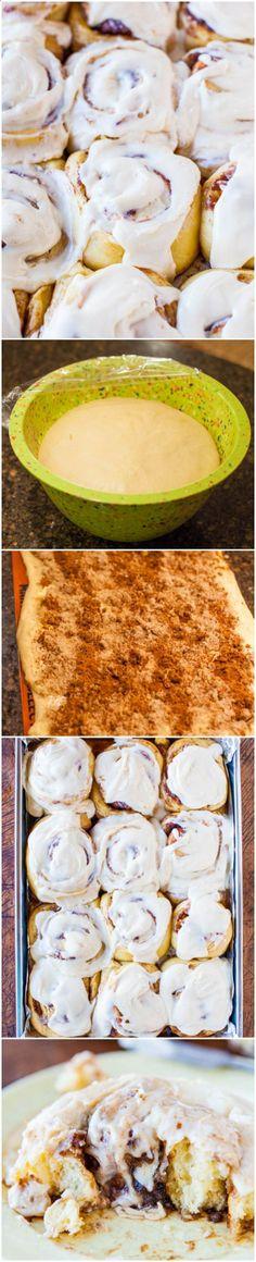 Overnight Buttermilk Soft and Fluffy Cinnamon Rolls - Move over Cinnabon, this…