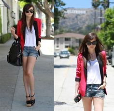 blazer moderno