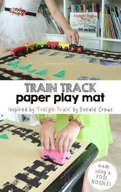 Train Track Paper Pl
