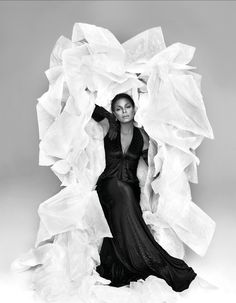 Janet Jackson by Ruven Afanador