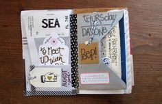 Seattle Souvenir Journal: Full by Paper Relics (Hope W. Karney), via Flickr