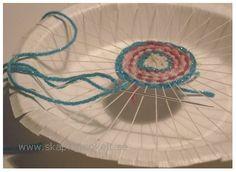 Basket weaving diy for kids fun 44 trendy ideas Diy Craft Projects, Diy Crafts For Kids, Arts And Crafts, Origami, Textiles, Creative Kids, Yarn Crafts, Basket Weaving, Handicraft