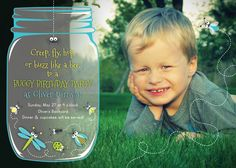 Bug Birthday Party Invitation