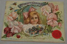 Antique Advertising Flower Seed Catalog Booklet 1904 Lippincott Minneapolis MN | eBay