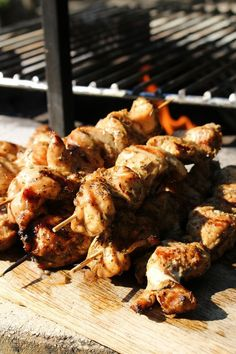 Skewers, Wok, Chicken Wings, Cooking Recipes, Foods, Meat, Drinks, Crickets, Food Food