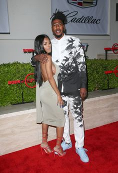 Teyana Taylor and Iman Shumpert All Black Fashion, Fashion Couple, Black Couples, Couples In Love, Couple Noir, Iman Shumpert, Nba Fashion, Black Relationship Goals, Stylish Couple