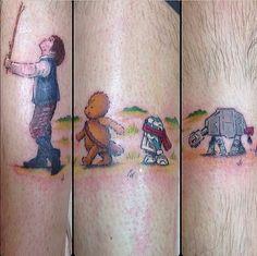 Home - Tattoo Spirit Up Tattoos, Star Tattoos, Trendy Tattoos, Future Tattoos, Body Art Tattoos, Sleeve Tattoos, Cool Tattoos, Tattoo Art, Star Wars Tattoo