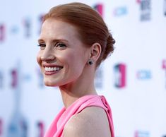 80 And More Updo Hairstyles For 2014: Jessica Chastain Updos  #updos #hairstyles #updohairstyles