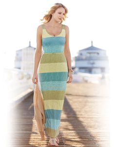 Belted V Neck Maxi Dress in Green Stripe by Pepperberry Winter Dresses, Day Dresses, Clothes For Sale, Clothes For Women, Bravissimo, Friend Outfits, Green Stripes, Summer Looks, Warm Weather