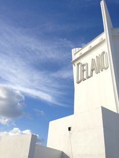 Delano Hotel, Miami #BallyArtBaselMiami #Triangle Walks