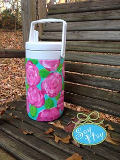 Monogram Preppy lilly pulitzer cooler <3 lilly