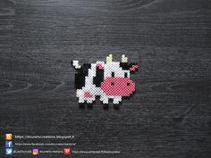 Petite Vache Perles Hama / Little Cow Perler Beads