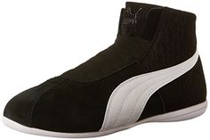 PUMA Womens Eskiva Mid Textured CrossTrainer Shoe Black 8 M US * Find out more about the great product at the image link.