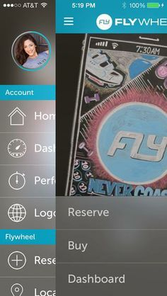FlyWheel just launched a slick new app.
