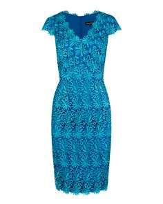 Aquarius Guipure Lace V-Neck Dress Image 0